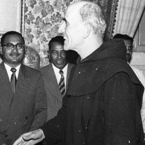 le père Marie-Eugène en Inde